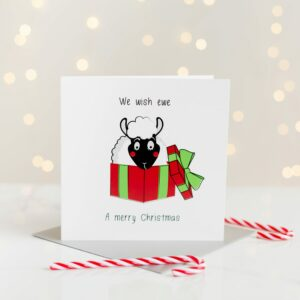 We Wish Ewe A Merry Christmas Card