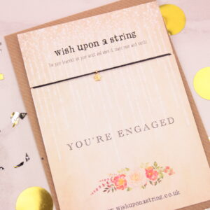 You're Engaged Wish String Bracelet