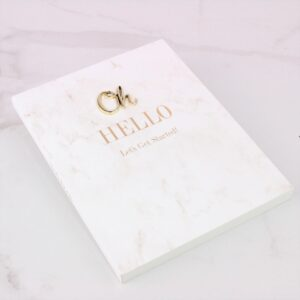 """Oh Hello"" Small Notebook"