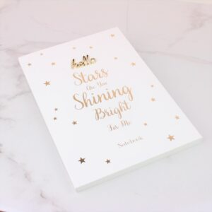 Shining Bright For Me A5 Notebook