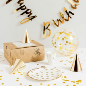 Gold Foiled Complete Party
