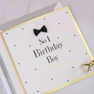 Number One Birthday Boy Card