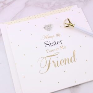 Large Always My Sister Card