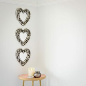 Champagne Heart Mirrors