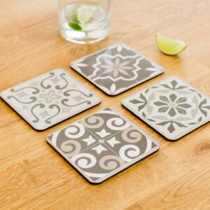 Tile Effect Coasters Choice of 2