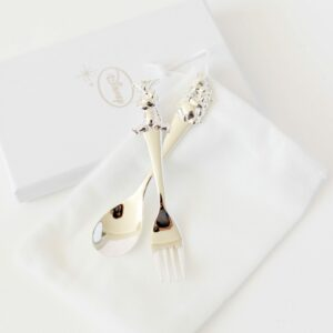 Silver Plated Fork & Spoon