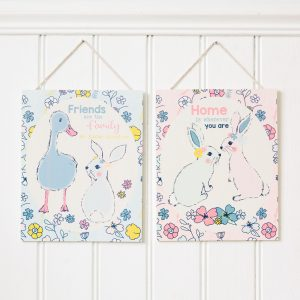 Bunny Or Duck Wooden Plaque