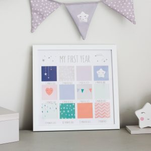 My First Year Baby Frame