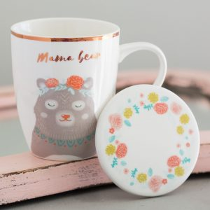 Mama Bear Mug & Coaster Set