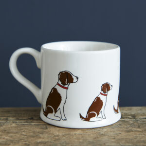 Brown Springer Spaniel Ceramic Mug