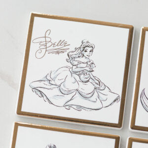 Disney Character Belle Collectable Ceramic Coaster