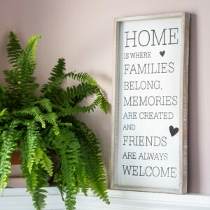 Home Is Where... Framed Plaque