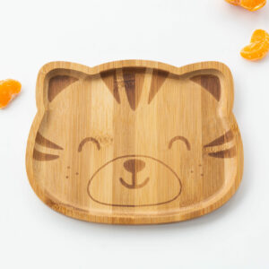 Kids Tiger Bamboo Plate