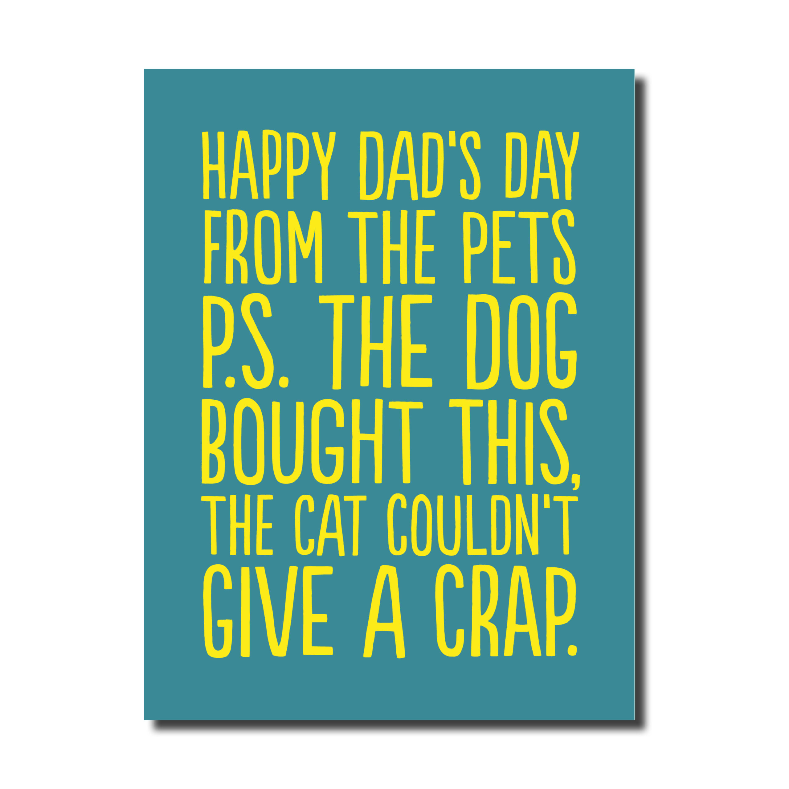 Dog Bought This... Funny Card