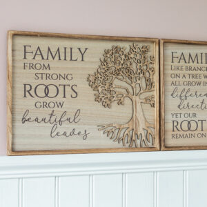 Tree of Life Wooden Frame Plaques